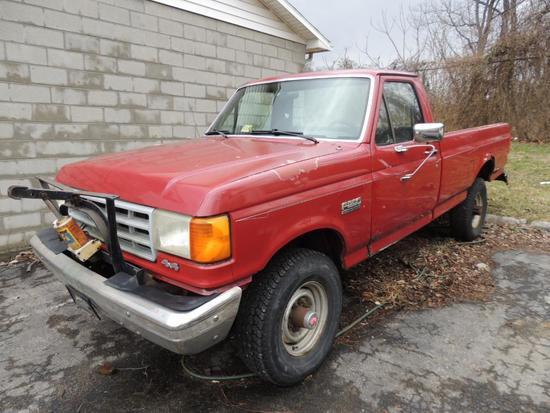 1990 Ford F250 4x4 Truck