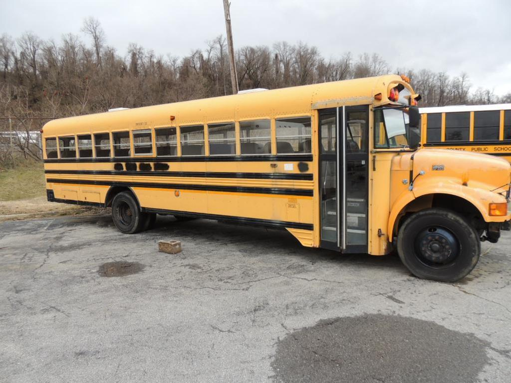 1997 International 3800 PT466 School Bus