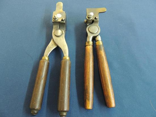 Two 32-40 Win Bullet Molds with Handles