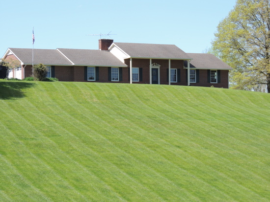 Custom Brick Ranch on 10 Acres