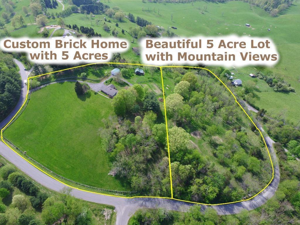 Custom Brick Ranch on 10 Acres
