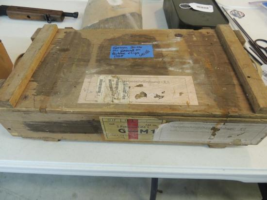 Full Case of 30-06 M1 Garand German Ammunition