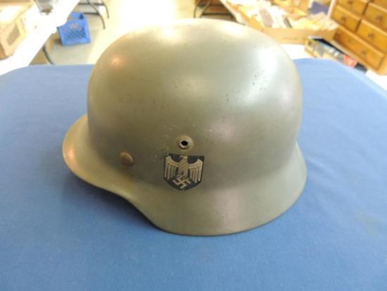 WWll German Military Helmet