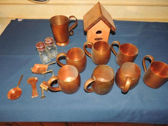 Large Lot of Copper
