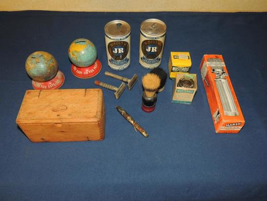 Vintage Collectibles & Household Items