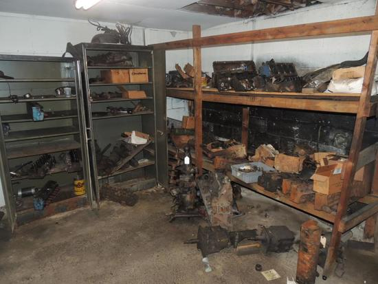 Large Lot of Ford Engine and Transmission Parts