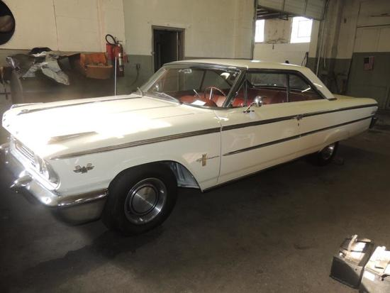 1963 Ford Galaxie 500 Two Door Hard Top