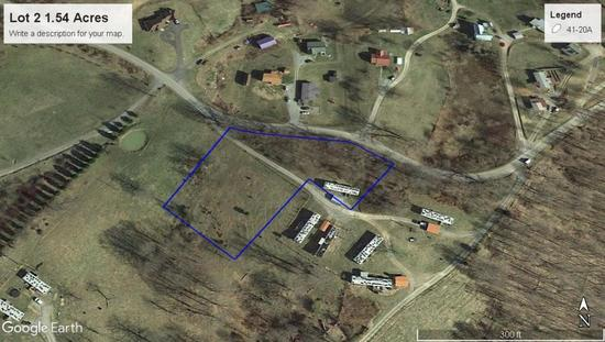 1.55 Acre Lot with One Mobile Home