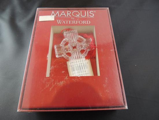 Waterford Lead Crystal Cross Ornament