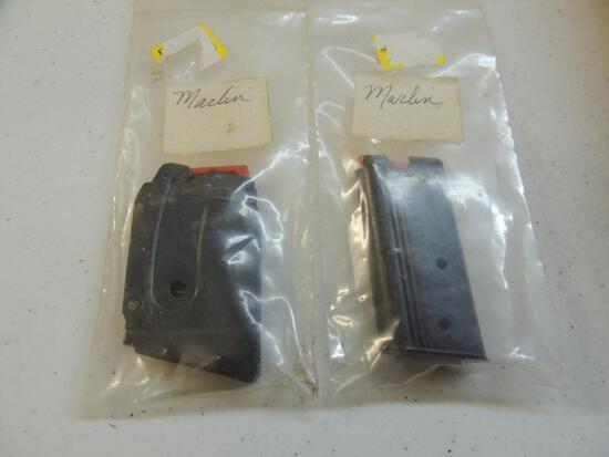 Two Marlin 22 Caliber Magazines