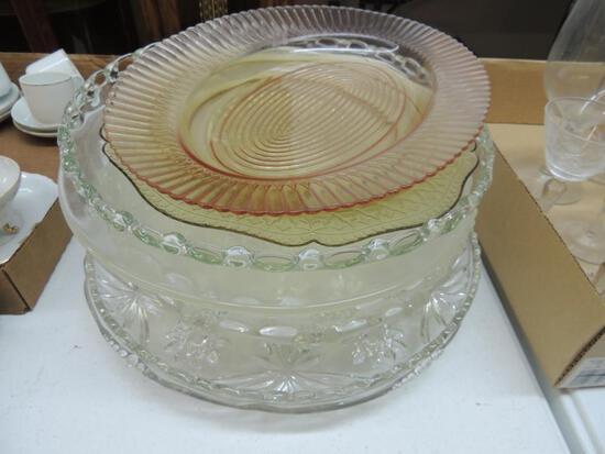 Large Lot of Decorative Platters