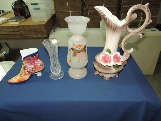 Flower Vase and Pitcher Lot