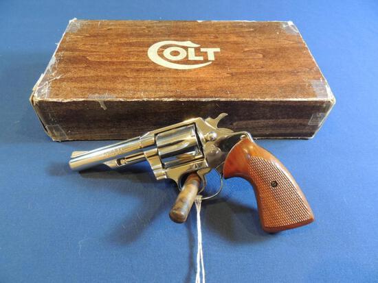 Rare Colt Viper Nickel 38 Special