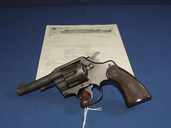Colt Commando 38 Special with Letter