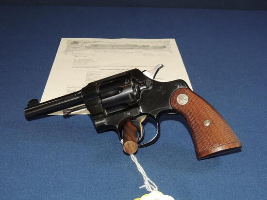Colt Army Special 41 Long Colt with Letter