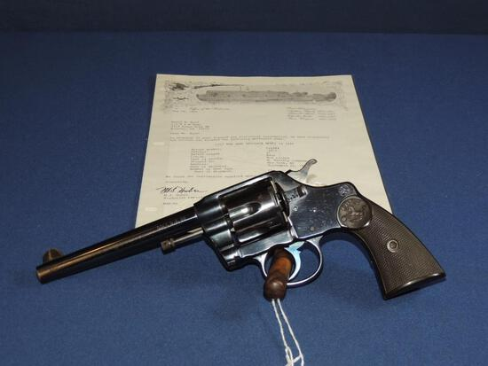 Colt New Army Model of 1896 38 Caliber with Letter