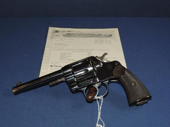 Colt New Service 38-40 with Letter
