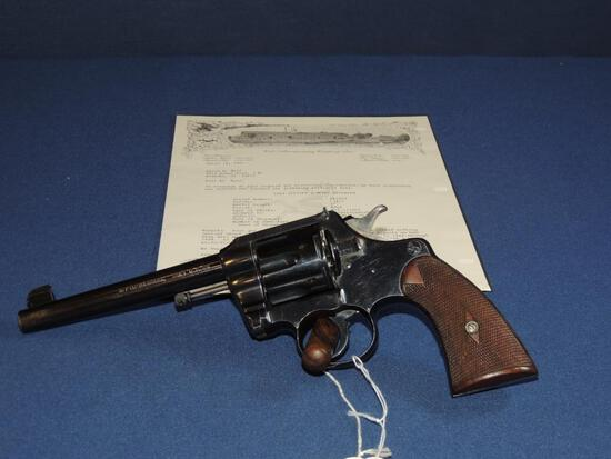 Colt Officers Model First Issue 38 Long Colt with Letter
