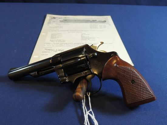 Rare Colt Viper 38 Special with Letter