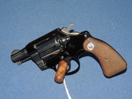 First Issue Colt Cobra 32 Colt New Police