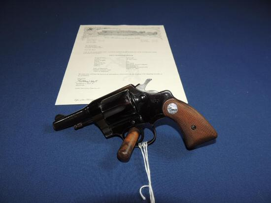 Colt Courier 32 New Police with Letter