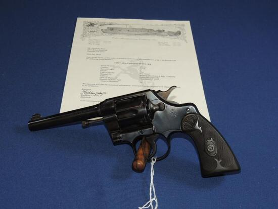 Colt Army Special 32-20 with Letter