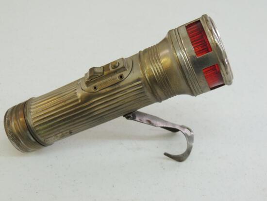 Rare Winchester Road Hazard Flashlight