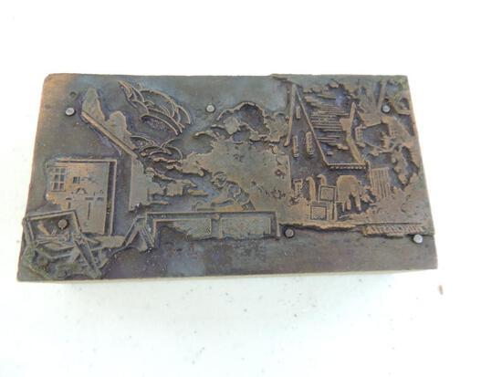 Vintage Winchester Ink Stamp