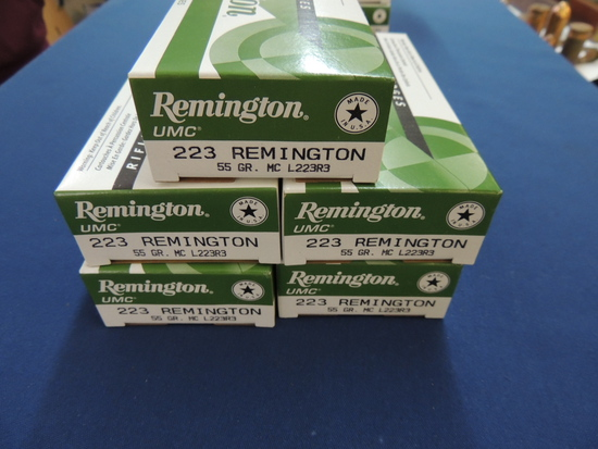 Ammunition Auction, Over 30,000 Rounds!