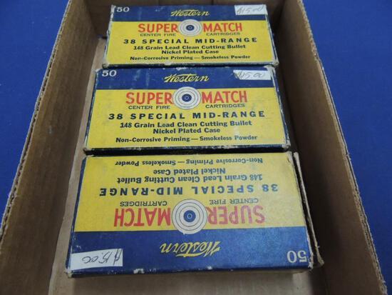 Vintage Western 38 Super Match