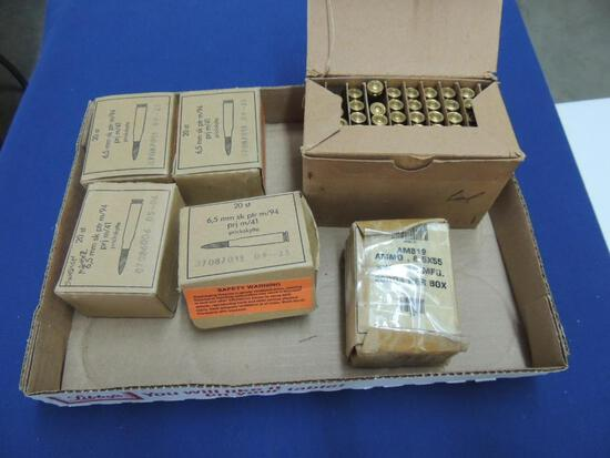 Large Lot of 6.5mm Ammo
