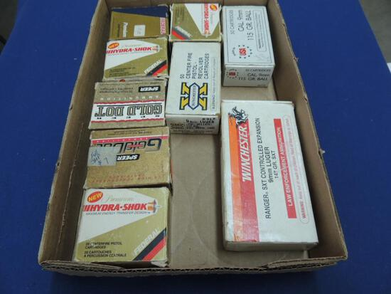 Large Lot of 9mm Ammo
