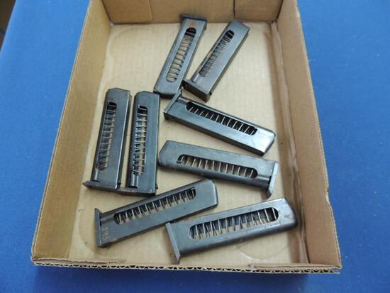 Eight 9mm Makarov Magazines
