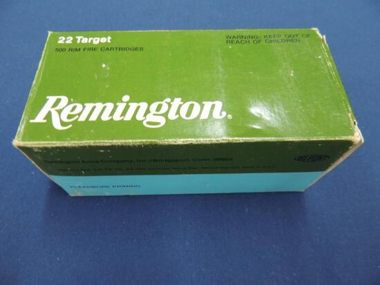 Full Brick of Remington Target 22 LR Ammo