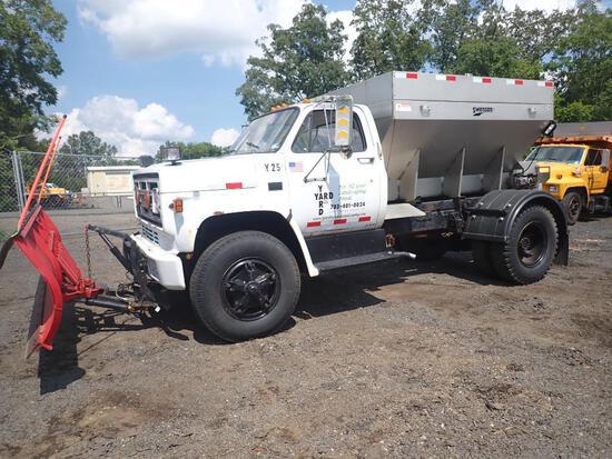 1988 GMC Snow Removal Dump Truck