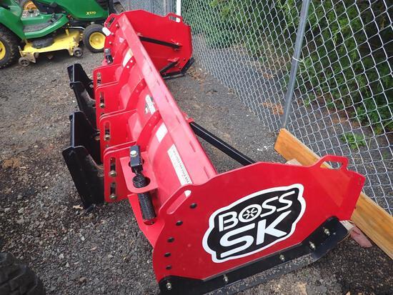 Like New 8 Foot Trip Edge Boss Box Plow