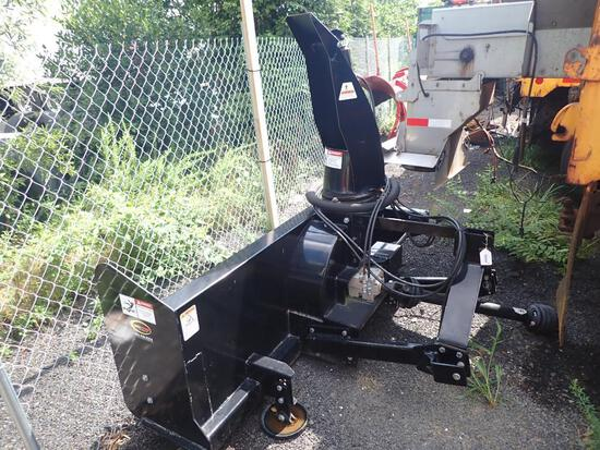Like New Quick Attach 3 Point Hitch Snow Blower