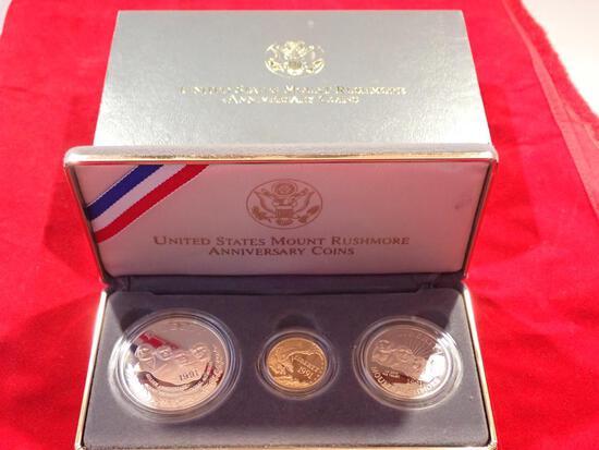 1991 Mount Rushmore Coin Set
