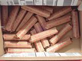 Nineteen Rolls of Wheat Pennies