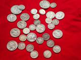 Mixed 90% Silver US Coin Lot