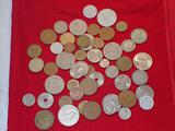 Fifty Foreign Coins