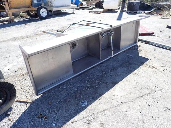 Large Stainless-Steel Sink