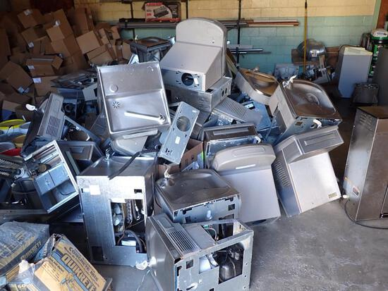Large Lot of Stainless-Steel Water Fountains