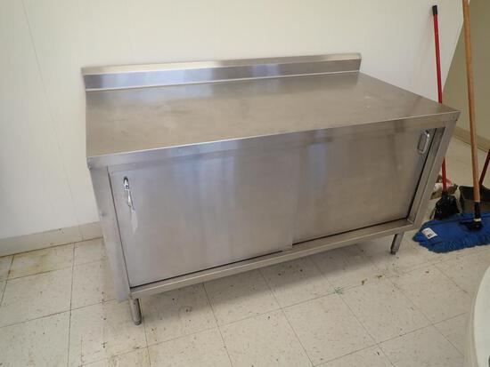 5 Foot Stainless Steel Workstation