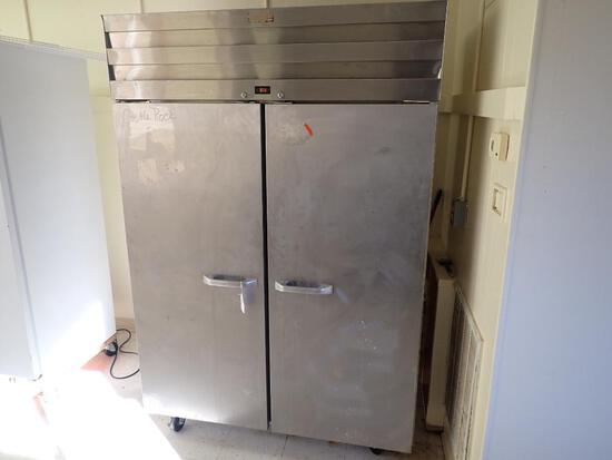 Commercial Reach in Double Refrigerator.