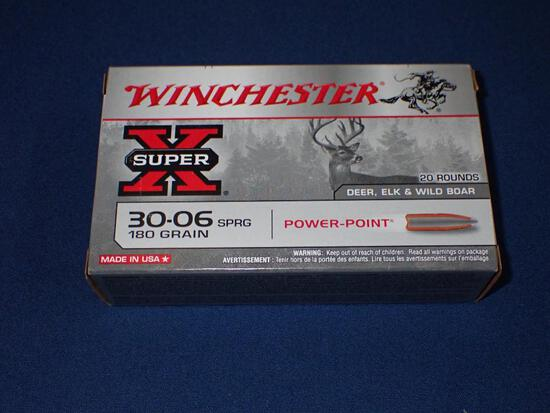 One Box of Winchester 30-06 Ammunition