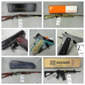 DON'T MISS THIS ONE! 300+ Mostly New In Box Guns!