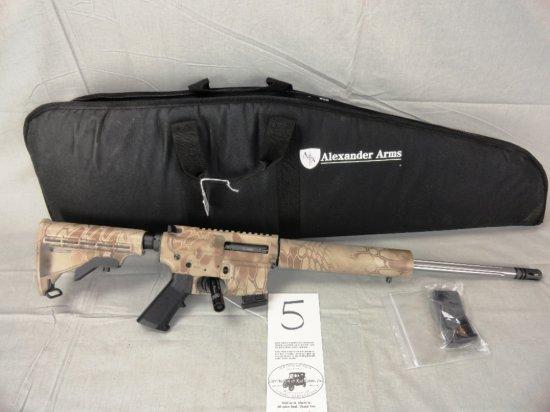 Alexander Arms R17, 17 HMR, SN:HMR00449
