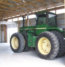 1981 John Deere 8640 with 50 Series Engine