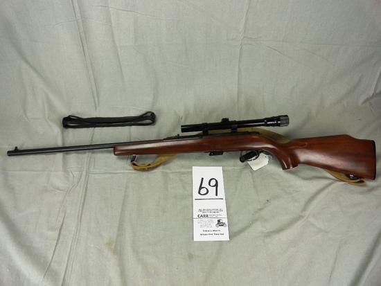 Remington 591, 5mm w/3-6x Weaver Scope, SN:1076275